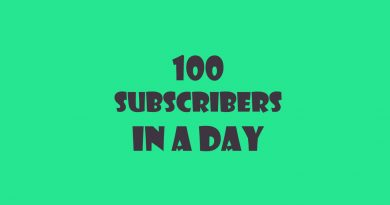 how to get 100 subscribers on youtube in a day